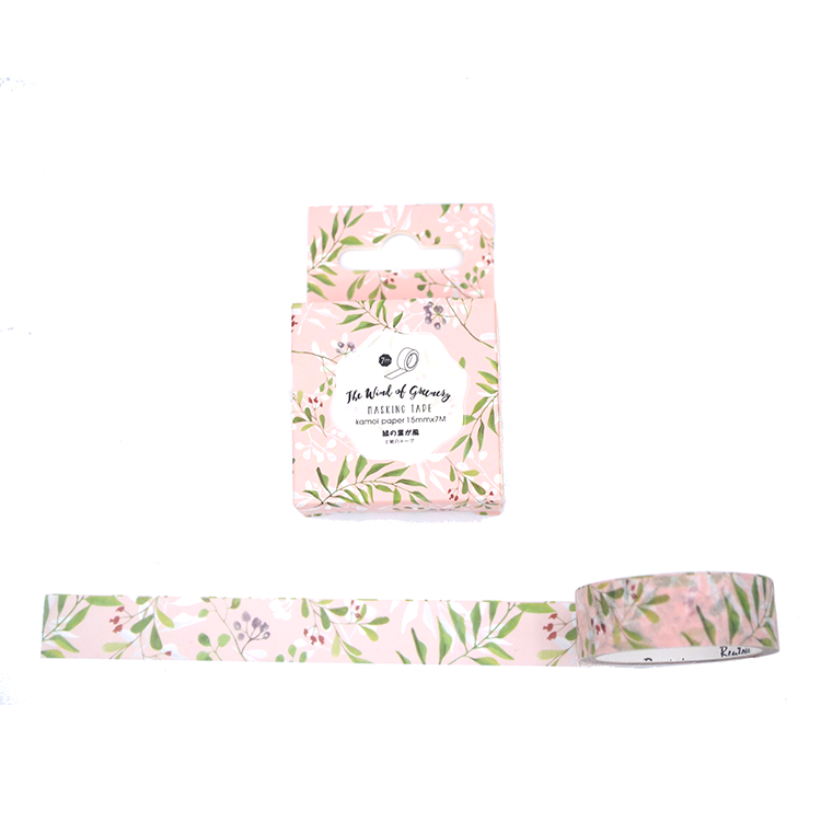 Washi tape - Floral rose