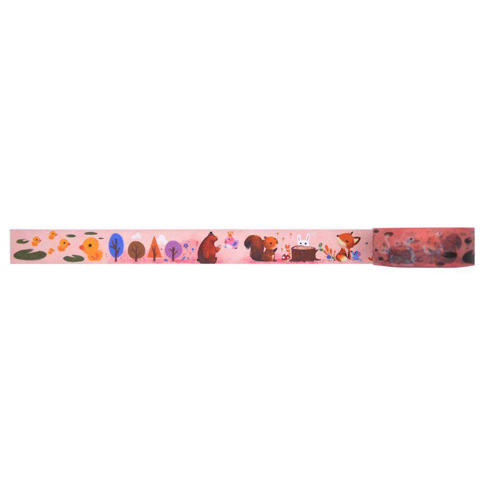Washi tape - Forest animals