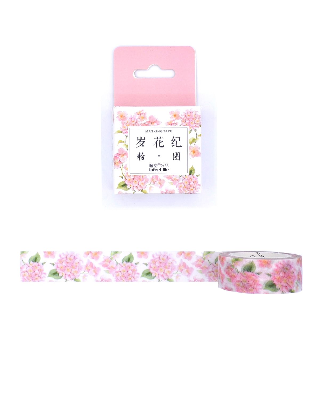 Washi tape - Hortência