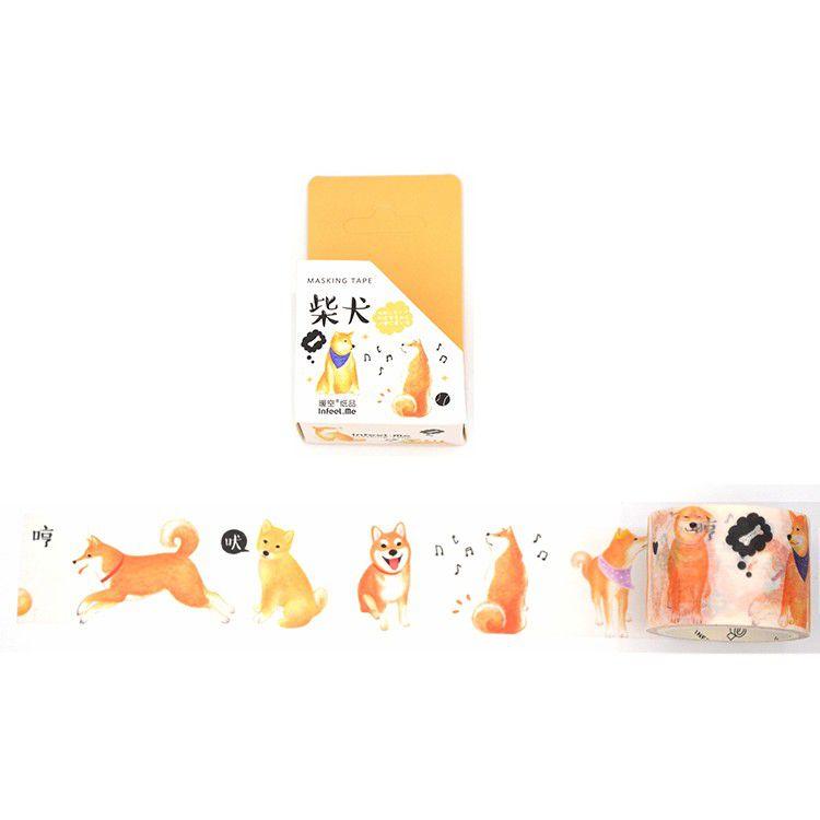 Washi tape larga - Shiba