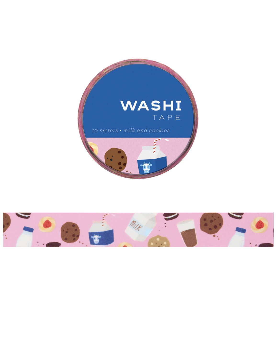 Washi tape - Milk and Cookies