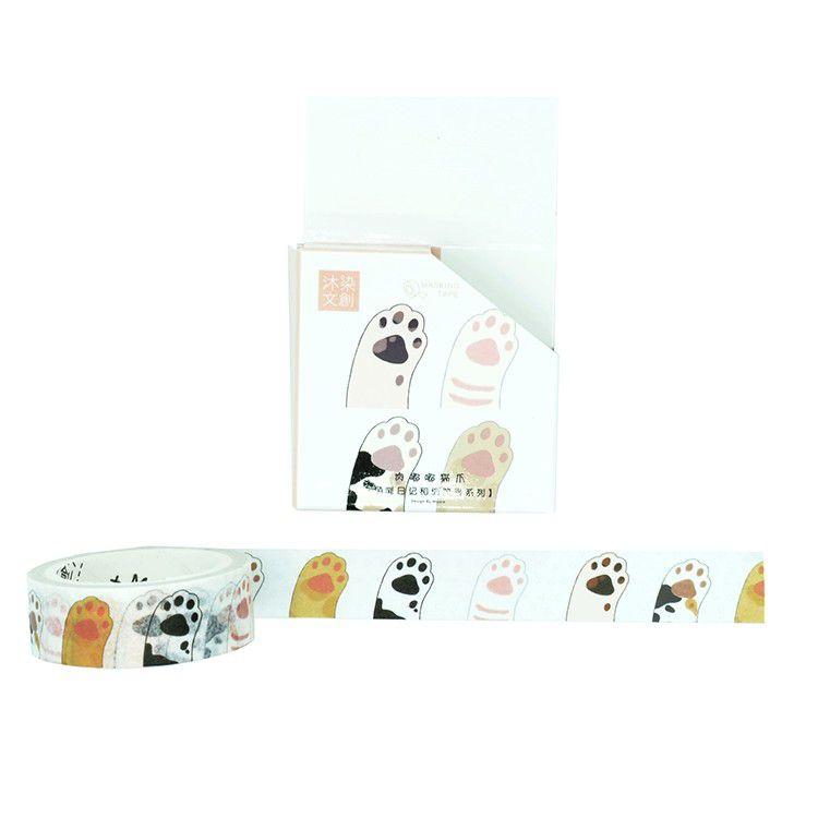 Washi tape - Patinhas