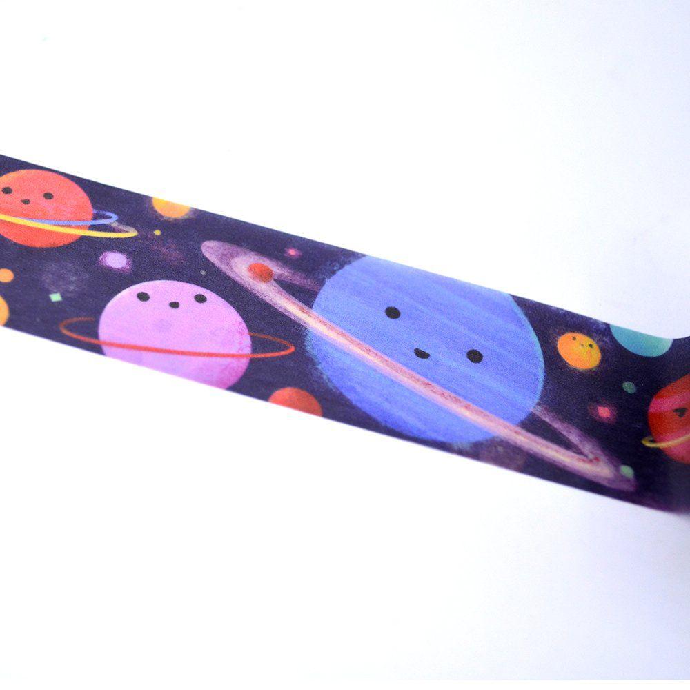 Washi tape - Planetinhas