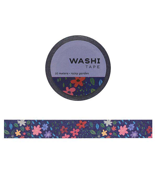 Washi tape - Rainy Gardens