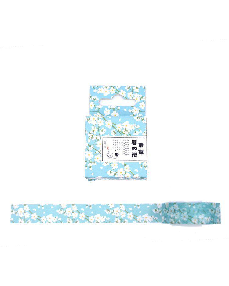 Washi Tape - Tokyo Blossom