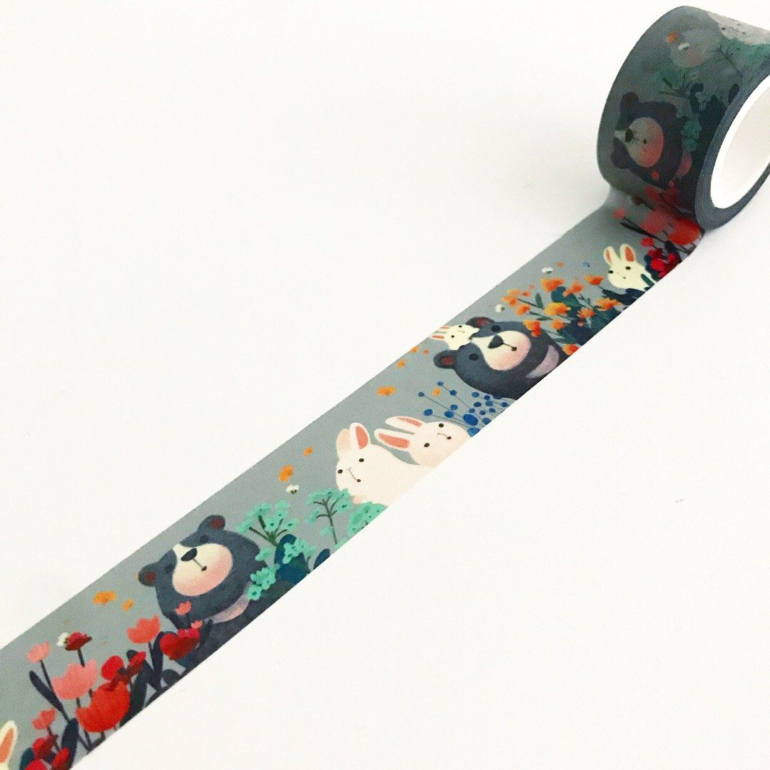 Washi tape - Ursos