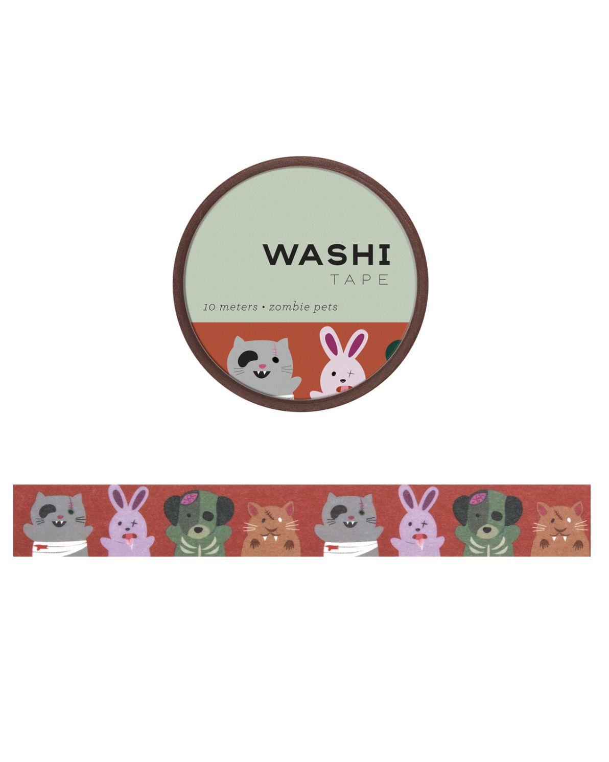 Washi tape - Zombie Pets