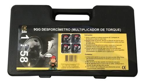 Desforcímetro Chave De Roda 580 Kgf Tc-58 9gg