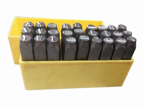 Marcador Punção Alfabeto 5mm - 27 Peças