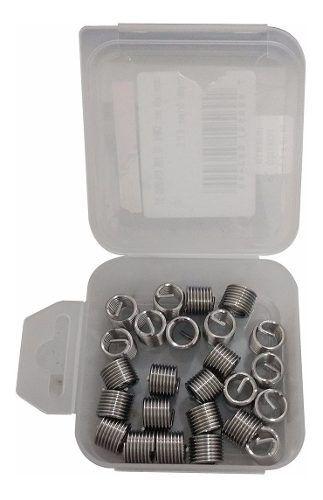 Helicoil Rosca Postiça - M8 X 1,25mm   1,50d - 25 Pçs