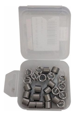 Helicoil Rosca Postiça - M14x1.25 - 1.5xd - 10 Peças