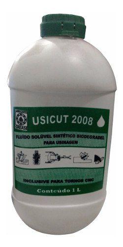 Óleo Solúvel Fluido Sintético P/ Usinagem 1l Usicut
