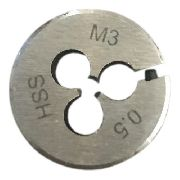 Cossinete M3x0.5 Hss Aço Rápido