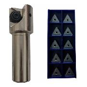 Kit Fresa 35mm 90° Tpkn Ou Tpkr 16 + Pastilhas Tpkr 1603