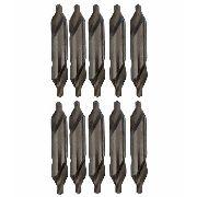 Kit Broca De Centro Para Centrar Hss 4x10mm 10 Unidades