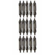 Kit Broca De Centro Para Centrar Hss 3,15x8mm 15 Unidades