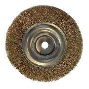 Escova Aço Circular 6x3/4x5/8 Latonada