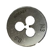 Cossinete Manual M3x0.5-1pol Aço Liga Rocast