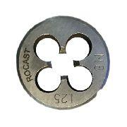 Cossinete Manual M8x1.25-1pol Aço Liga Rocast