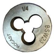 Cossinete Manual 1/4pol-1pol Bsw Aço Liga Rocast