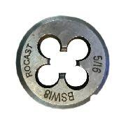 Cossinete Manual 5/16pol-1pol Bsw Aço Liga Rocast