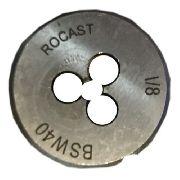 Cossinete Manual 1/8pol-1pol Bsw Aço Liga Rocast