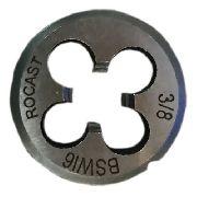 Cossinete Manual 3/8pol-1pol Bsw Aço Liga Rocast
