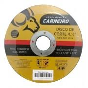Disco De Corte Para Aço Inox 4.1/2pol 150 Unidades