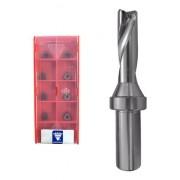 Kit Broca Tmax 20,5mm Wcmx03 3xd + Pastilha Wcmx 030208 Nn