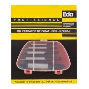 Kit Extrator De Parafusos 7ri 5 Peças Eda