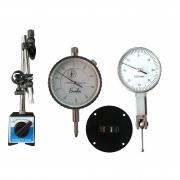 Kit Relógio Apalpador + Relógio Comparador + Base Magnética