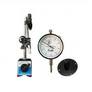 Kit Relógio Comparador + Base Magnética Marberg