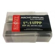 Macho Manual Aço Liga 1pol 11fpp Bsp 264,0099 Rocast