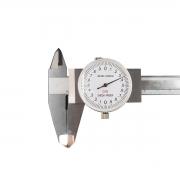 Paquímetro Com Relógio 150mm Com Estojo 6pol