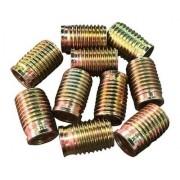 Tucho Bucha Rosca Postiça M12x1,25 / M14x1,25 21mm 10 Peças