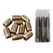 Tucho M14x1,25 / M18x1,5 16mm + Macho Manual 3pçs M18x1,5