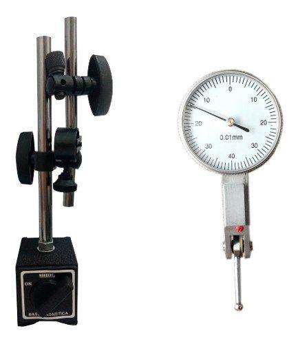 Kit Relógio Apalpador + Base Magnética
