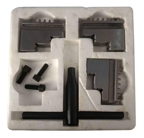 Placa Para Torno 3 Castanhas Universal 200mm 8pol + Flange | Seven Tools