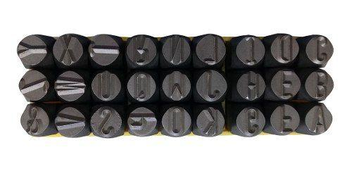 Marcador Punção Alfabeto 2mm - 27 Peças