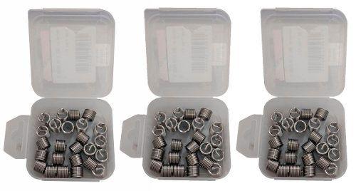 Kit Helicoil Rosca Postiça M5x0.8 + M6x1 + M8x1.25
