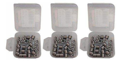 Kit Helicoil Rosca Postiça M12x1.5 + M12x1.75 + M14x1.25