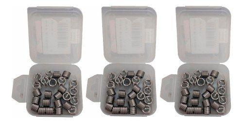 Kit Helicoil Rosca Postiça M10x1.5 + M12x1.25 + M12x1.5