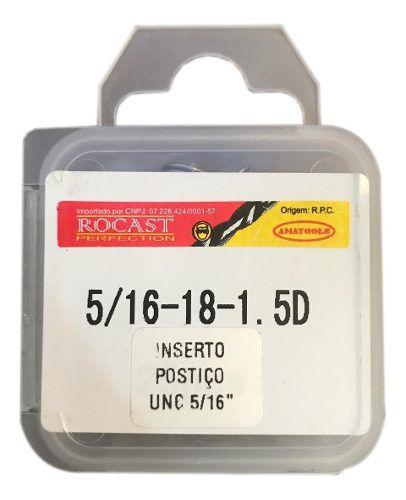 Helicoil Rosca Postiça - 5/16 - 1.5xd - 25 Peças
