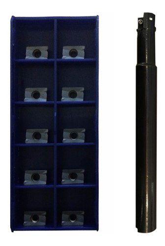 Kit Fresa 16mm 90° Aplx Ou Apkt 10 + Pastilhas Aplx 1003