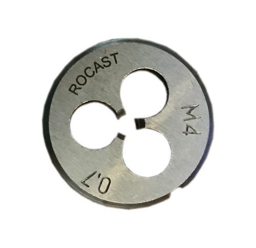 Cossinete Manual M4x0.7-1pol Aço Liga Rocast