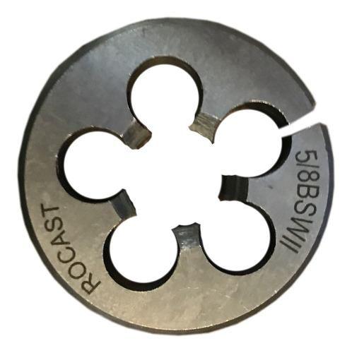 Cossinete Manual 5/8pol-1.1/2pol Bsw Aço Liga Rocast