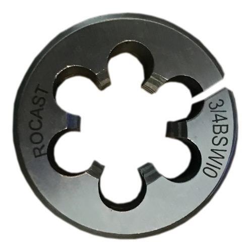 Cossinete Manual 3/4pol-1.1/2pol Bsw Aço Liga Rocast