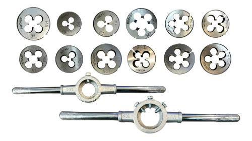 Kit Cossinetes M3 - M16x2 + Porta Cossinete 1pol E 1 1/2