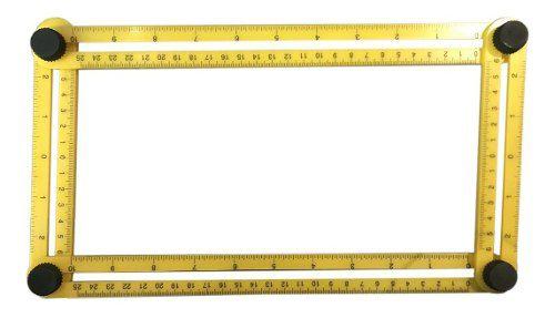 Esquadro Régua Medidora Multi Angulo Ajustável