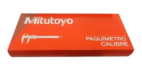 Paquímetro Mitutoyo 150mm Sem Titanio